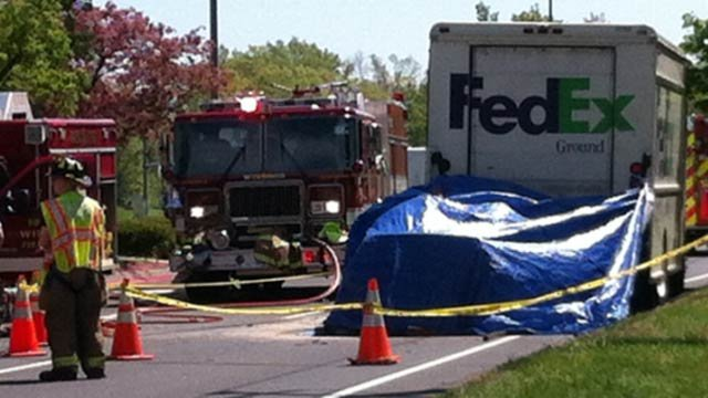 A woman was killed in a crash in Windsor Friday morning.