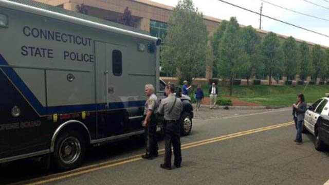 CSP arrive in Trumbull after a body was found Friday morning