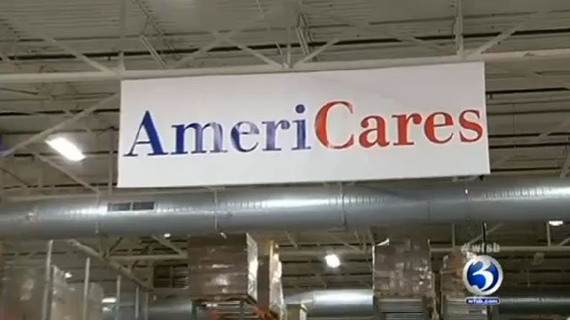 AmeriCares Sign