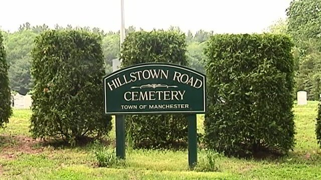 Hillstown Road Cemetery Sign