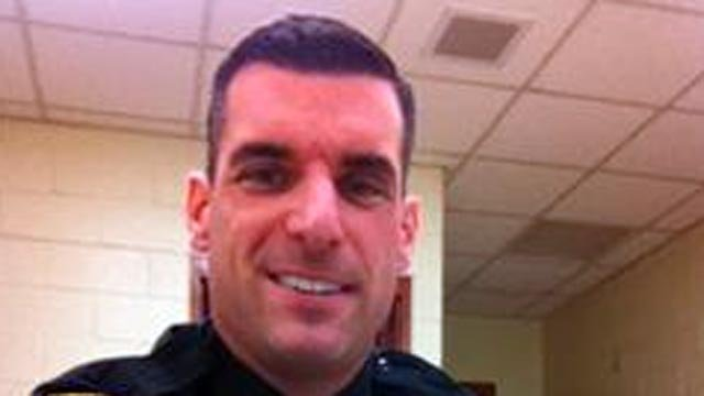 Milford officer Michael Compare is competing for Sandy Hook victim Chase Kowalski