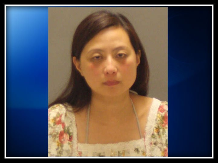 The following photo of Wen Qi was provided by the Greenwich Police Department.