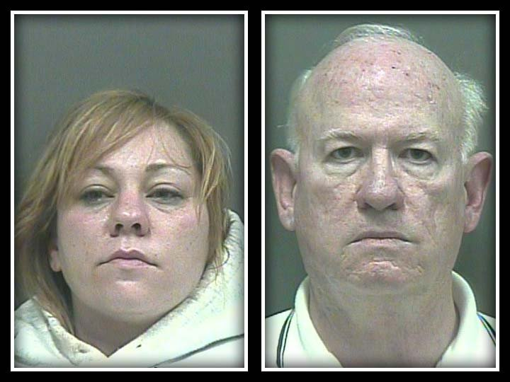 Jennifer Lowery was charged with prostitution. Richard Burford was charged with patronizing a prostitute