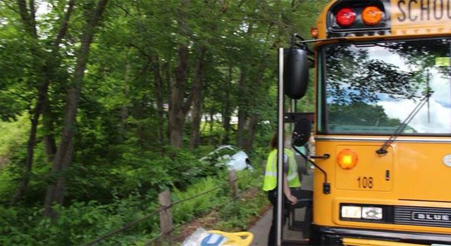 School bus crash reported in Wolcott - WFSB 3 Connecticut