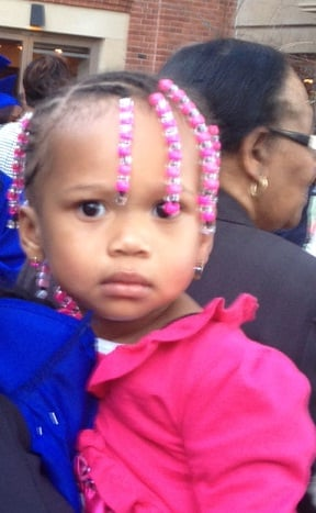 Za'Nya McWillie - photo provide by family