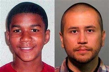 (AP Photos, File). FILE -This combo image made from file photos shows Trayvon Martin, left, and George Zimmerman.