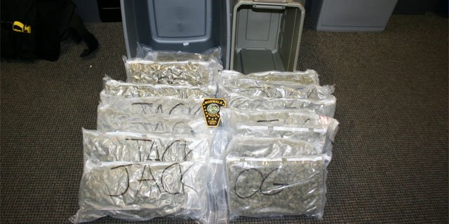 The following photo of marijuana seized was provided by the Norwalk Police Department.