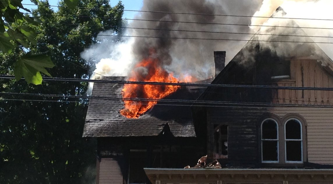House in North Haven sustains heavy damage after fire ...