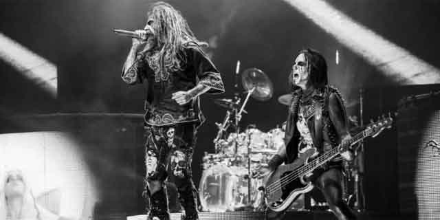 The following photo of Rob Zombie is from his Facebook page.
