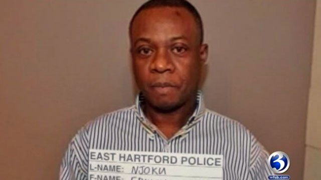 The following photo of Edwin Njoku was provided by the East Hartford Police Department.