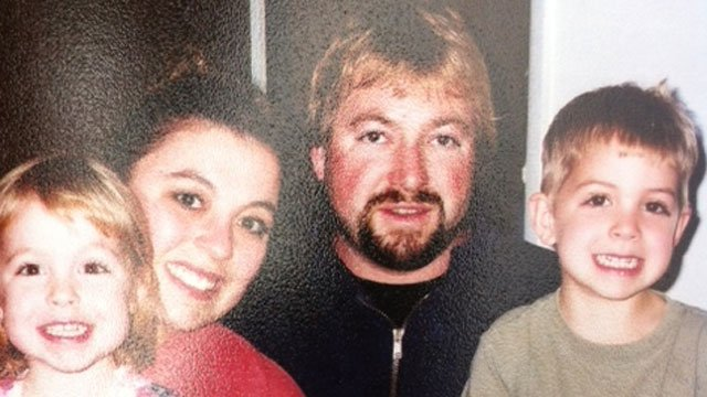 The following photo of John Schaeffler and his family was provided by the his friends.
