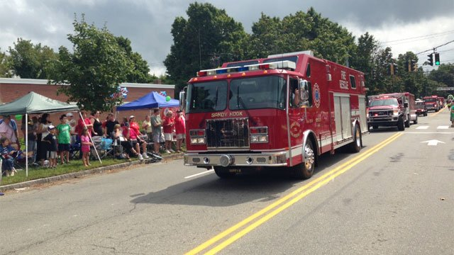 One of the loudest applause was for the Sandy Volunteer Fire Department.