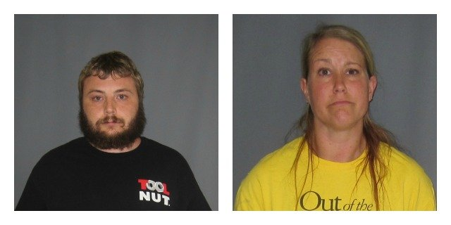 The following photo of Eric and Jessica Buggelin were provided by the East Central Narcotics Task Force.