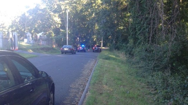A man suffering from a gunshot wound was found in a wooded area near a cemetery on Riverside Street in Portland.