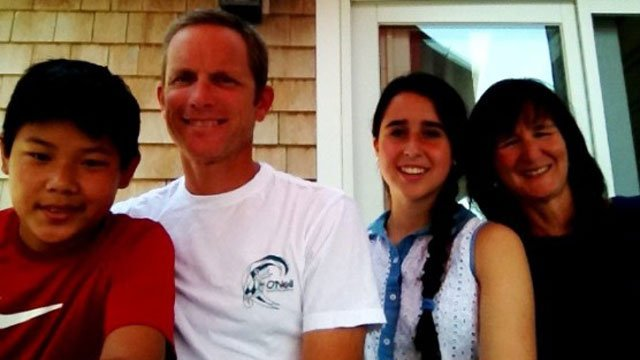 Brad Vernet and his wife Katy live with their children in Mystic. Photo: BlogCEA