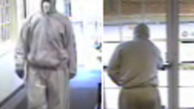 The following photos of possible suspect were provided by the Wallingford Police Department.