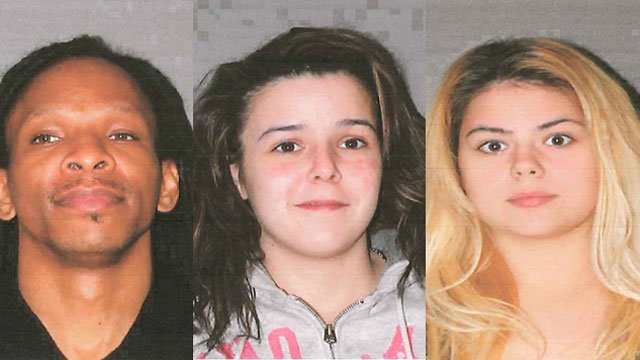 The following photos of Edward Thomas, Candice Janton and  Kayla Walters were provided by the Stratford Police Department.