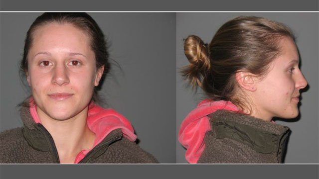 The following photo of Morgan Frawley was provided by the New Canaan Police Department.