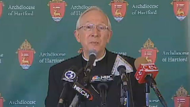 Leonard Paul Blair speaks for the first time as the new archbishop of the Archdiocese of Hartford.