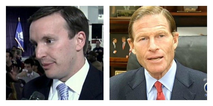 U.S. Senators Chris Murphy and Richard Blumenthal