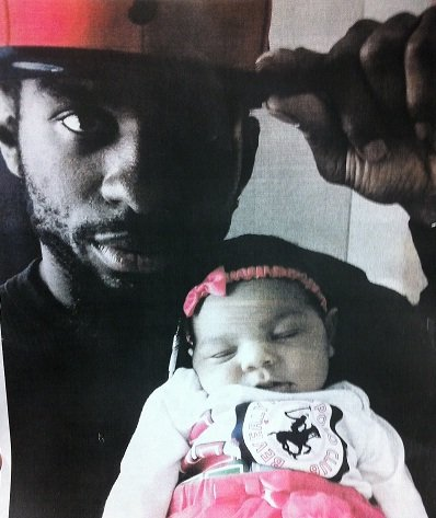 Aaliyah Barrett and her father, Vaughn Barrett.