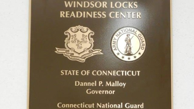 Connecticut Army National Guard Windsor Locks Readiness Center ribbon cutting event (photo courtesy Office of Lt. Governor Nancy Wyman Facebook page)