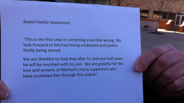 After being granted bail, the Skakel family released this statement to the media