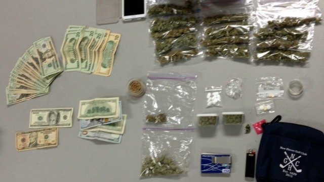 The following photo of items seized was provided by the Branford Police Department