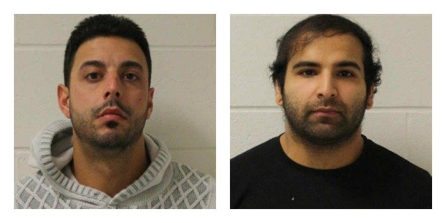 The following photos of George Perrelli and Haris Shah provided by the Branford Police Department