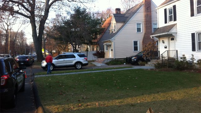 Police are on the scene of the suspect's home in Fairfield.