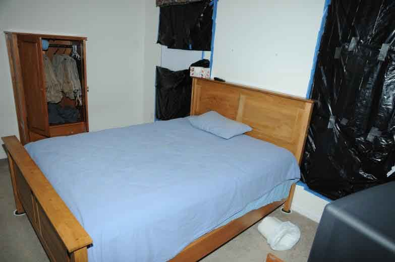 The following photo is the inside of Adam Lanza's room.