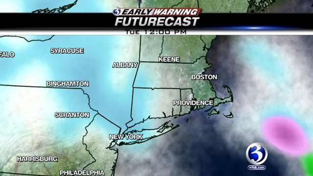 Some parts of Connecticut could see snow flurries on Tuesday.