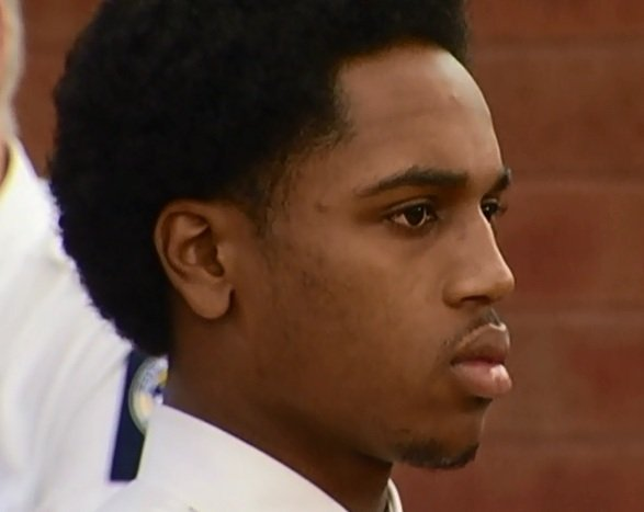 Tarence Mitchell appeared in court Friday on murder charges.