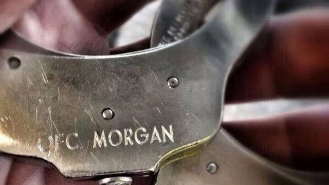 Officers used Morgan's handcuffs on Snype.