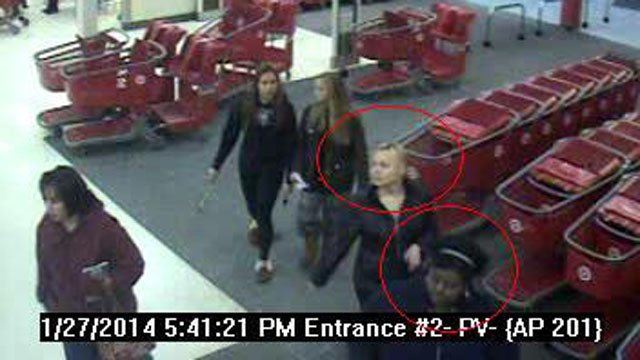 Surveillance photo taken on Jan. 27 before the fire.