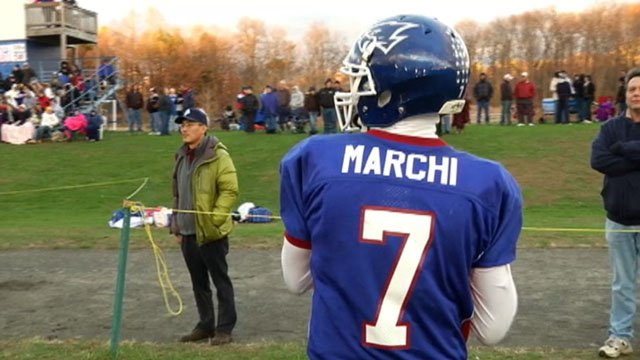 Logan Marchi's UConn scholarship was rescinded six days before national signing day.