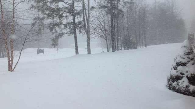 The following photo was taken by Ashley at noon from Gregor Technologies in Torrington