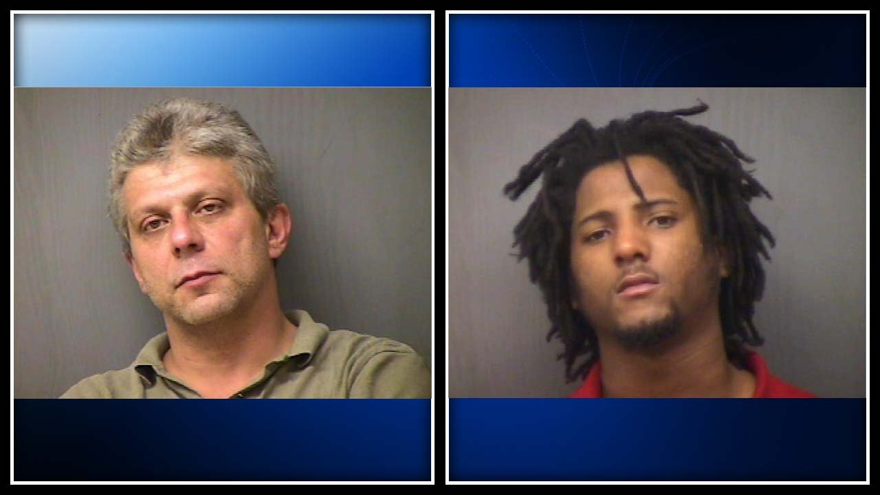 Daniel Stravato (left) and Jamie Johnson (right) both face drug charges. (Norwich PD photo)