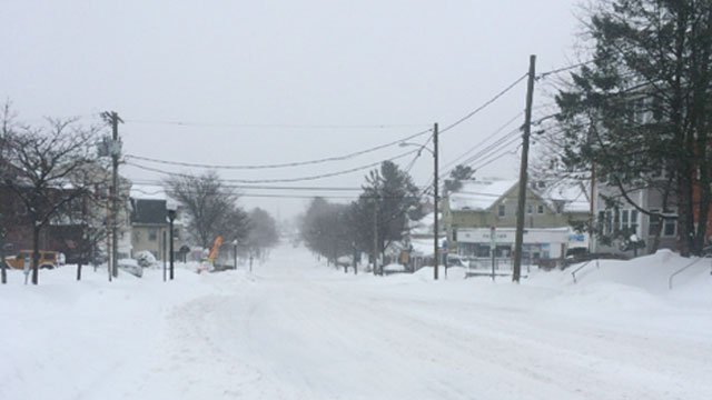 WFSB Viewer took a photo of Park Road in West Hartford