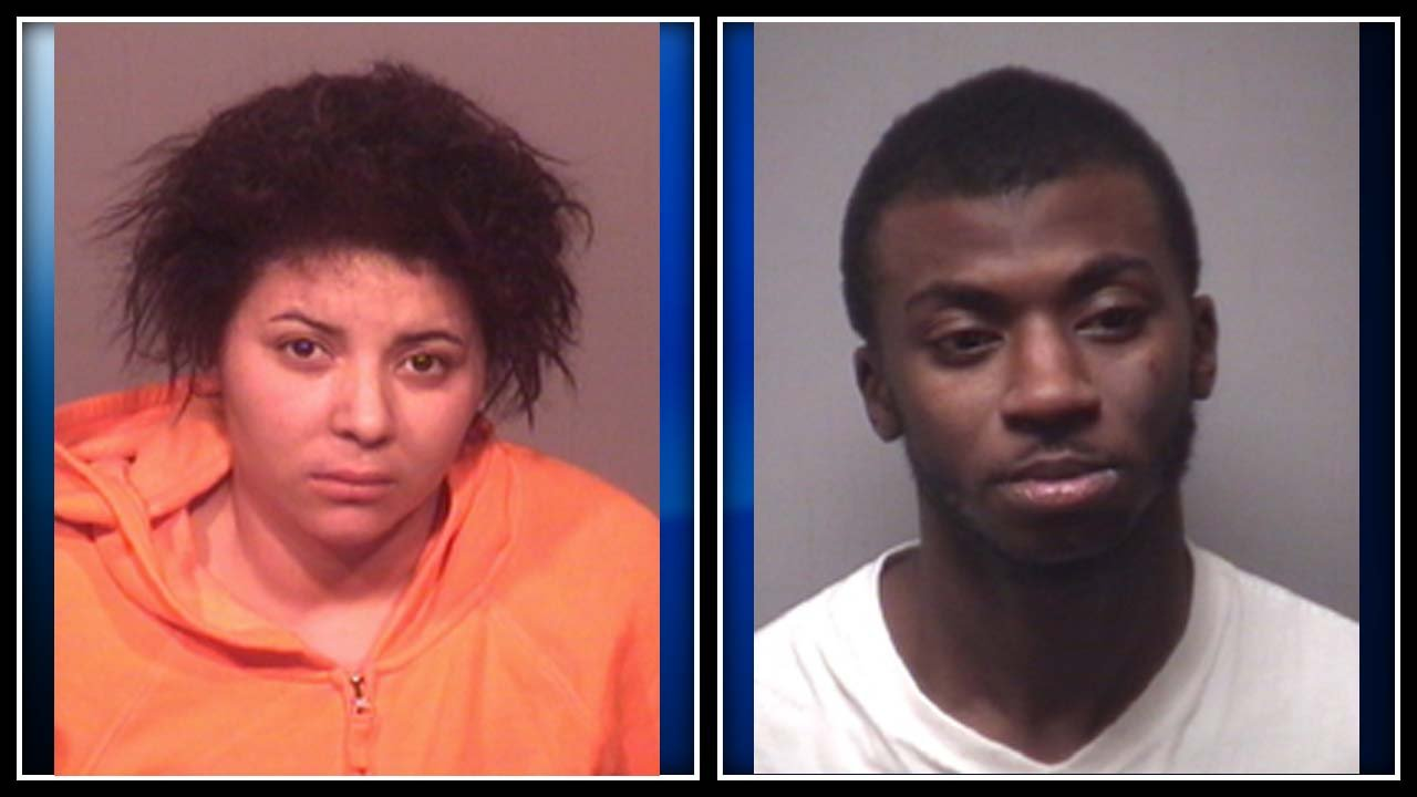 Shawnda Bacote (left) and Warren Watson (right) were accused of selling drugs out of a Meriden apartment. (Meriden police photo)