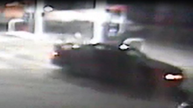 The red or maroon Oldsmobile Alero police said the suspect may have been driving. (Southington police photo)