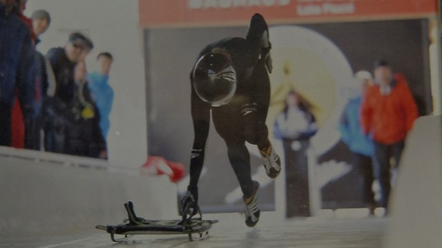 Megan Henry is a world-class skeleton skater. (WFSB photo)