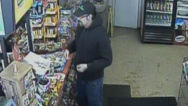 Police hope the public can identify this person of interest in a mobile phone robbery case. (Vernon police photo)