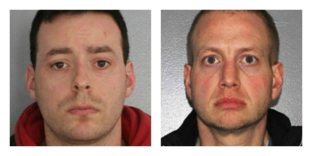 The following photo of Michael Jones and Reid Fontaine provided by police.