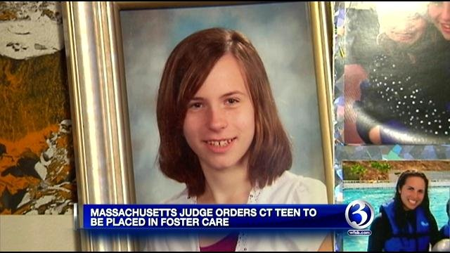A judge has ordered Justina Pelletier of West Hartford into foster care amid hospital dispute. (WFSB photo)