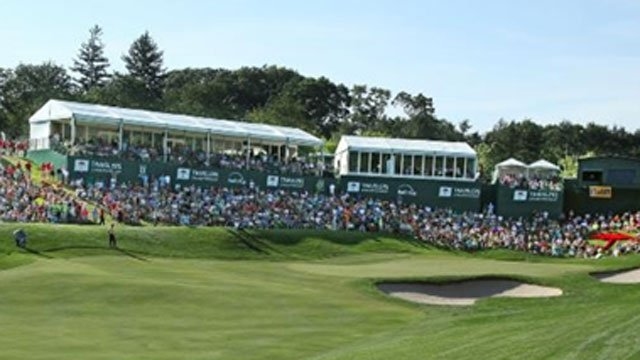 The following photo of 2013 Travelers Championship was provided by Travelers.