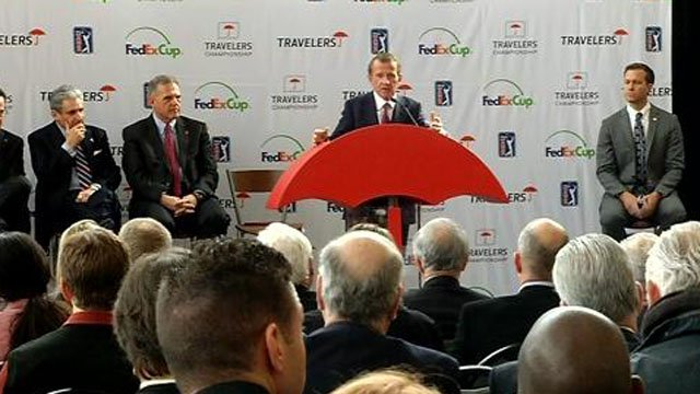 Travelers has agreed to a 10-year title sponsorship extension of the Travelers Championship. (WFSB photo)