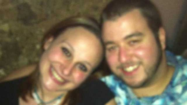 Brittany Holland, of Herbon, and Casey Senechal, of Lebanon, were found dead in a running motor vehicle in Lebanon Monday morning. (Photo Courtesy: Facebook)