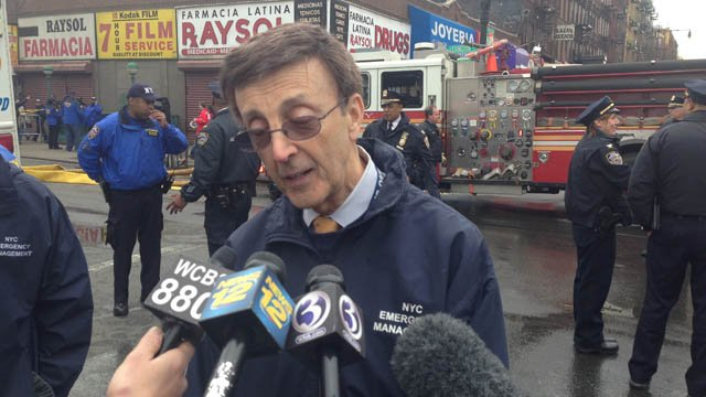 Joseph F. Bruno, commissioner of the New York City Office of Emergency Management . (WFSB photo)