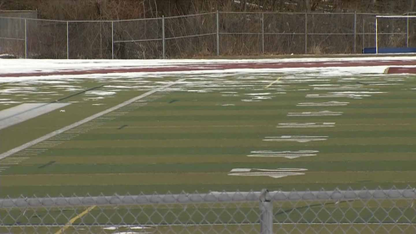 Sports fields could soon have advertisements to raise money for school athletics. (WFSB photo)